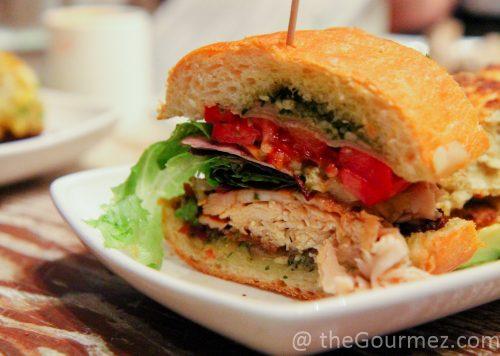 turkey sandwich the lunchpad