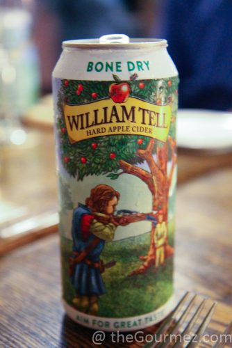 William Tell Cider Bone Dry