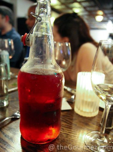 William Tell Cider Cranberry Growler