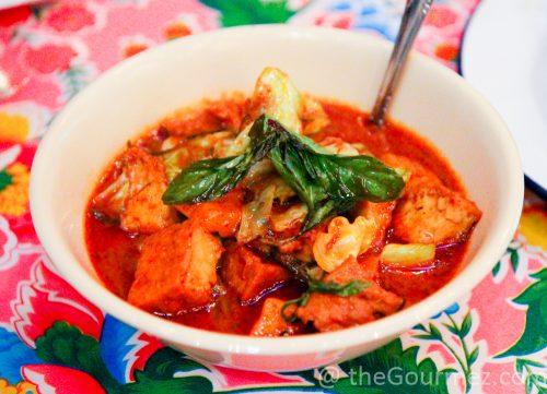 hawker fare tofu curry