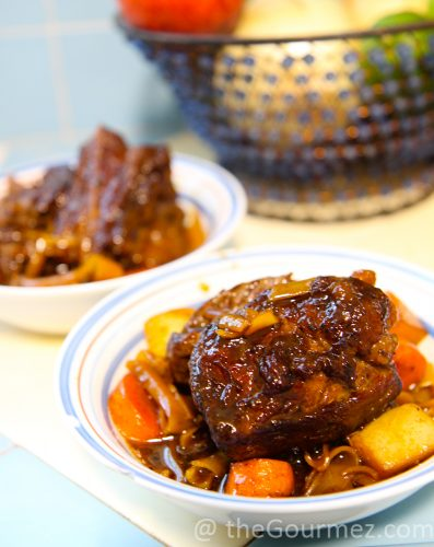 korean beef short ribs glass noodles