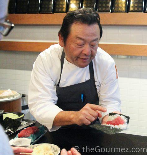 ken tominaga japanese rice exports sushi