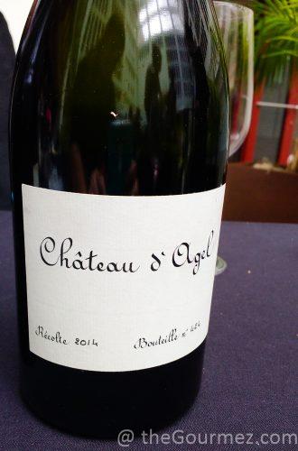 Château D'Agel Recolte Rouge 2014 AVPSA wine tour