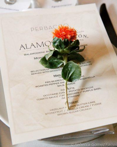 alamos gascon malbec wine dinner perbacco