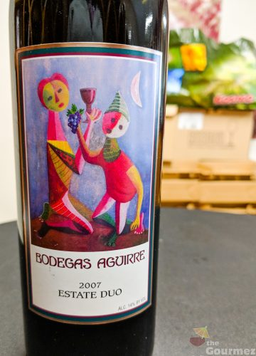 Bodegas Aguirre, wine, livermore, duo
