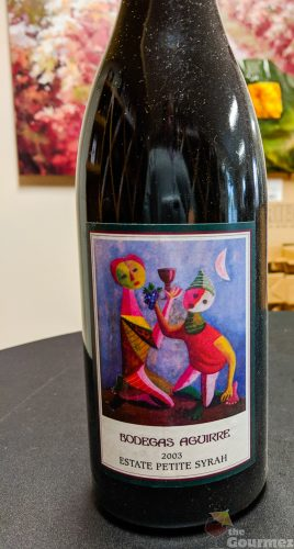 Bodegas Aguirre, wine, livermore, petite sirah