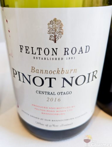 New Zealand wine, wine, tasting notes, felton road, pinot noir