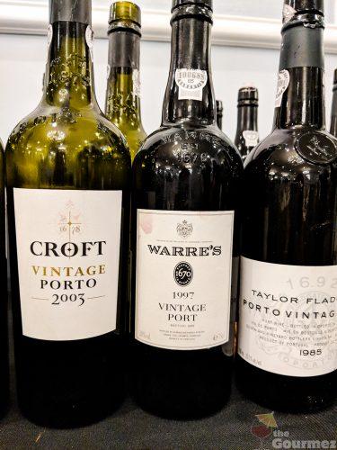 2016 Vintage Port, croft 2003, warre's 1997, taylor fladgate 1985