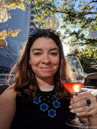 rebecca gomez farrell, the gourmez, wine, rose