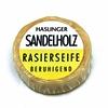 Haslinger Sandalwood Shaving Soap 60g Puck