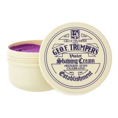 Geo F Trumper Violet Soft Shaving Cream in Screw Thread Pot (200g)