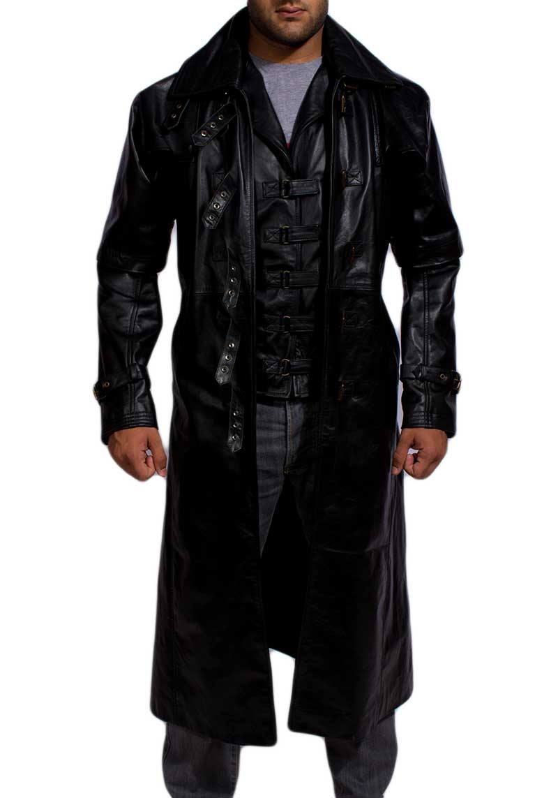 Tjm 0423 desperado black long coat