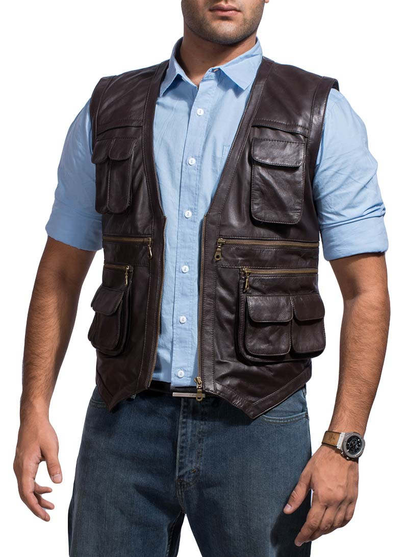 Tjm 0588 safari brown vest