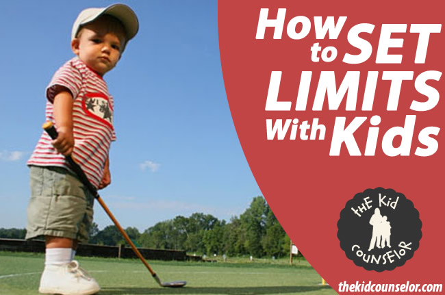 How to set limits with kids