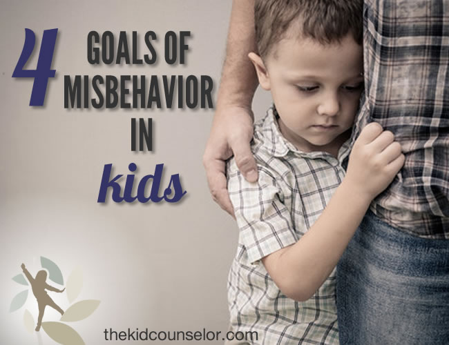 Four Goals of Misbehavior in Kids