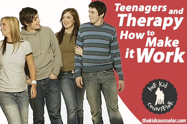 Teenagers and Therapy: How to Make it Work