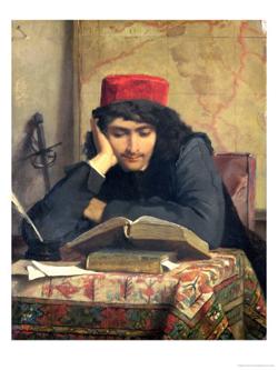 CW Man Reading