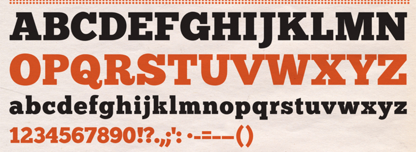 Chunk typeface
