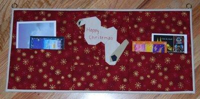 Christmas Card Holder by AstridB