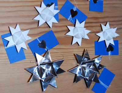 Traditional Norwegian / Scandinavian paper ornaments by AstridB