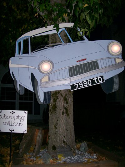ArtisticMom's Flying Ford Anglia