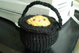 Cauldron Pin Cushion