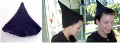 Hogwarts Student Hat pre-felting