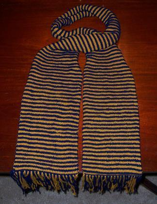 Ravenclaw Illusion Scarf - Straight View