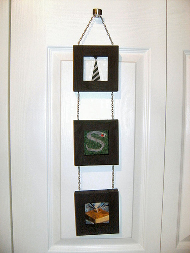 Paper-pieced Slytherin Wall Hanging