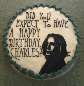 Severus Snape Birthday Cake