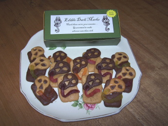 Edible Dark Mark Biscuits
