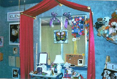 Gryffindor Canopy - Window