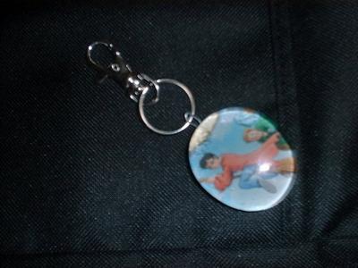 Marble Keychain