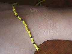 Hufflepuff Friendship Bracelet