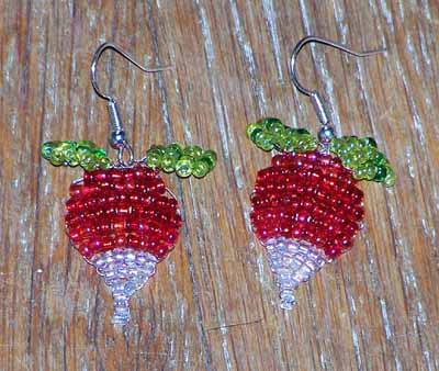 Luna Lovegood's Radish Earrings (v5) - Image 2