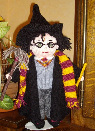 Harry Potter knit doll - 1