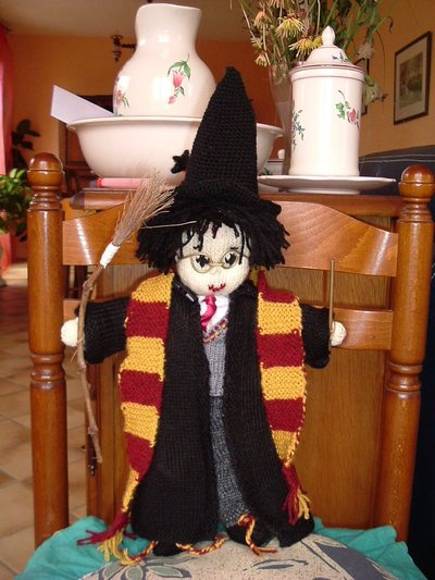 Harry Potter knit doll - 2