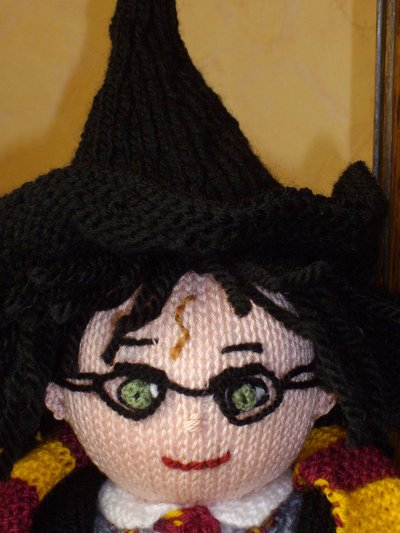 Harry Potter knit doll - 5