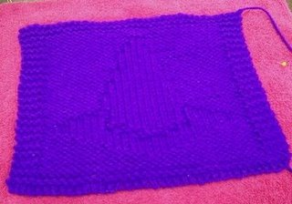 Woozelmom's Witches Hat Dishcloth