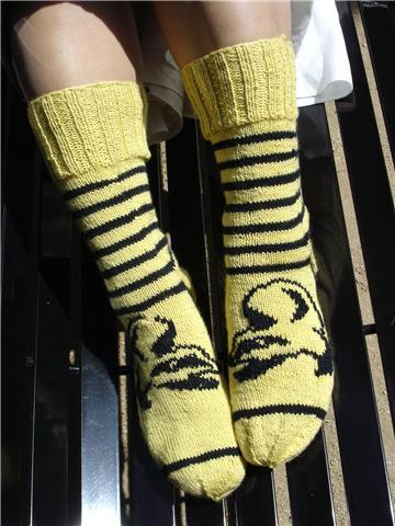 Hurray Hufflepuff socks