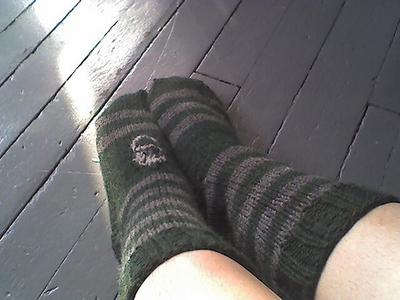 Slytherin's Serpent Socks