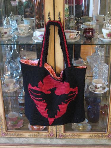 Phoenix Rising Bag - 1