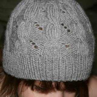 Hermione's Cable & Eyelet Hat - 2