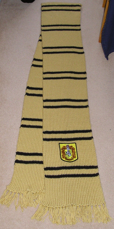 Hufflepuff Scarf Knitting Pattern : Prisoner of Azkaban Style Scarf (v2) - The-Leaky-Cauldron ...