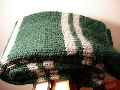 Harry Potter Scarf Knitting Pattern Slytherin : Prisoner of Azkaban Style Scarf - The-Leaky-Cauldron.org ...