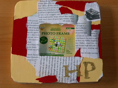 HP Decoupage Photo Frame
