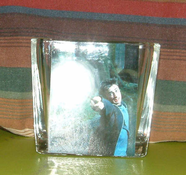 Harry Potter Candle Holder - Lit