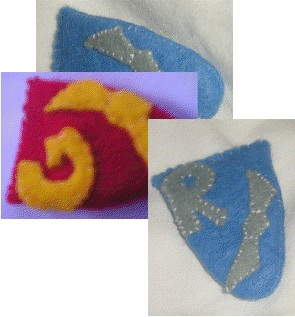 Hogwarts House Hair Clips