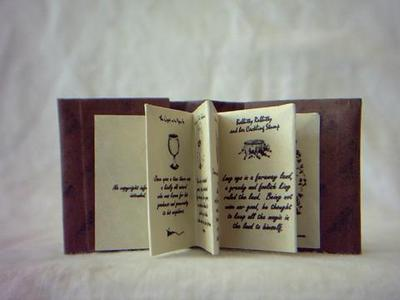 Mini Beedle the Bard Book - interior pages