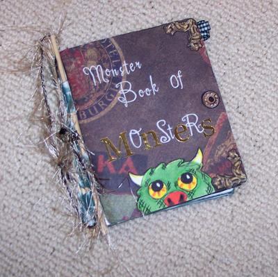 Piano Hinge Monster Book of Monsters - Cover